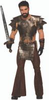 6-PC Medieval Fantasy Armor Costume Accessory Kit Gladiator Warrior Guard O/S