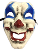 Happy Comedy Theatre Adult Fancy Mask Halloween Costume Accessory Clown Face