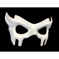 Paint Your Own White Venetian Eye Mask Adult Blank Create Decorate Masquerade