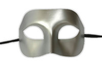 Silver Eye Mask Masquerade Party Adult Halloween Venetian Costume Accessory