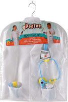 Medical Doctor Costume Role Play Set Dress-Up Physician Child Boys Girls 8-10