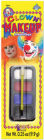Clown Make up Kit Costume Accessory Face Paint Disguise Water Washable Makeup