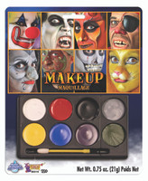 Carnival Face Paint Makeup Kit Child Adult Costume Accessories Water Washable