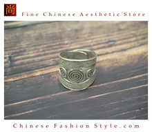 Fine 99 Ring High Purity Sterling Silver Jewelry 100% Handcrafted Art #101