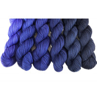 Night Sky Gradient Mini Skein Set