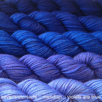 Violets Are Blue Gradient Single Full Skeins