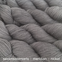 Nickel is a medium silvery gray, color C in the Transition Metals tonal series. Semi-solid.