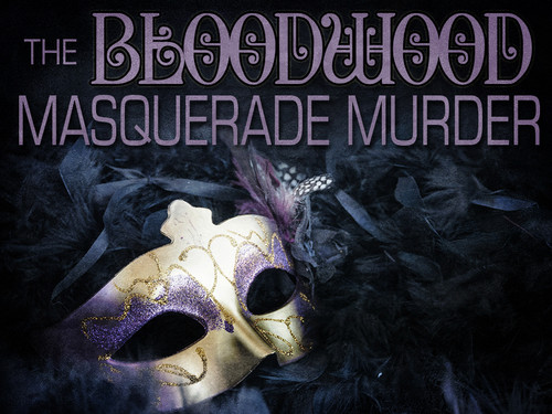 Bloodwood masquerade mystery party game boxed set