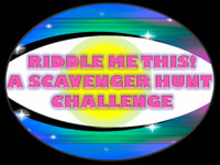Riddle scavenger hunt game