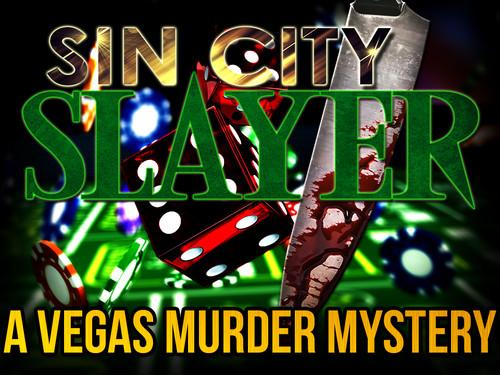 Vegas themed murder mystery party.