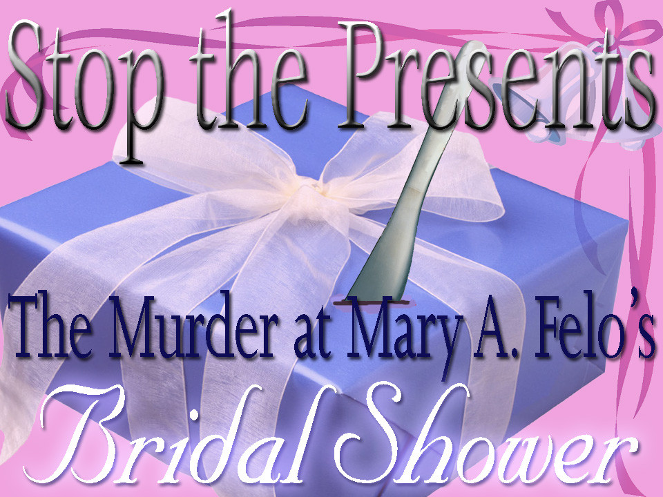 Bridal Shower murder mystery party