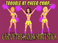 Cheerleading mystery party for girls.