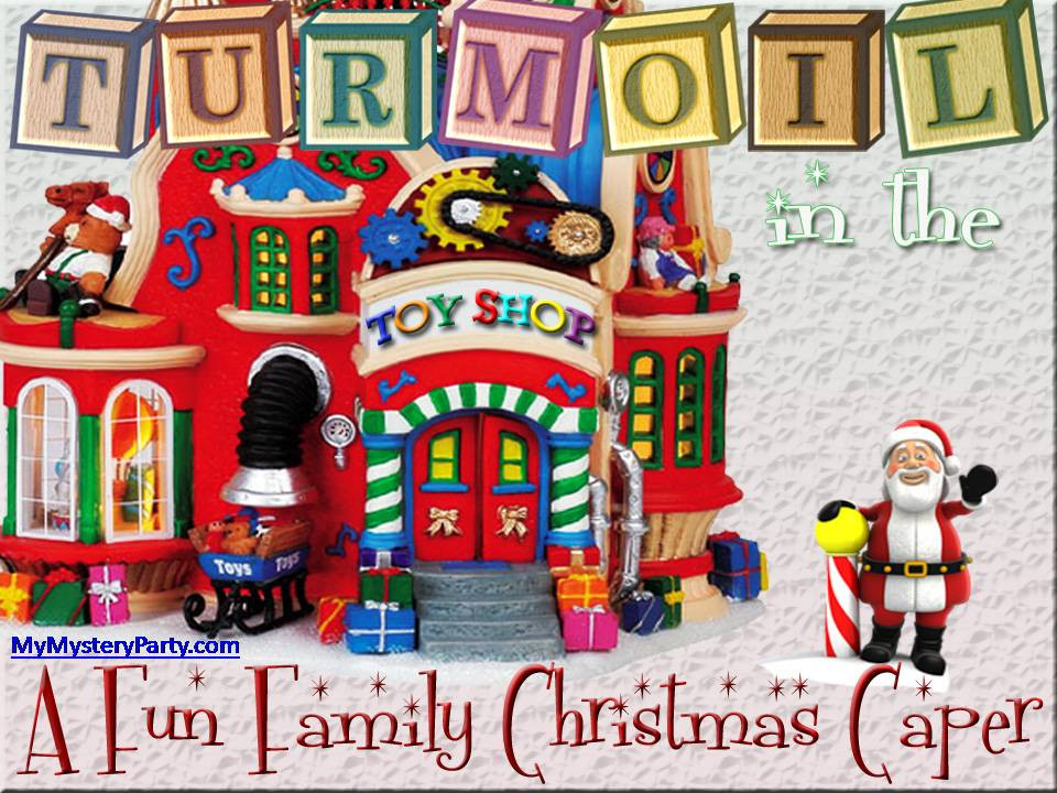 Turmoil in the Toyshop Christmas Mystery