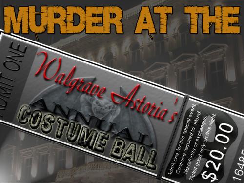 Walgrave Astoria costume ball murder mystery