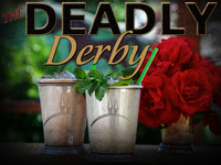 Deadly Derby murder mystery at the horse races.