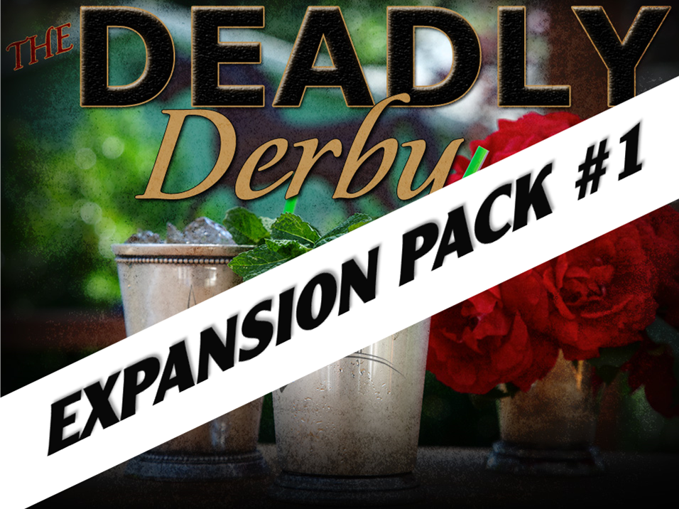 Deadly Derby murder mystery party expansion pack