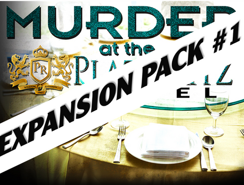 Plaza Ritz Hotel murder mystery party expansion pack #1.