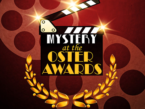 Boxed set of the Mystery at the Oster Awards tween mystery party
