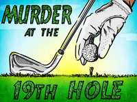 Golf tournament mystery party