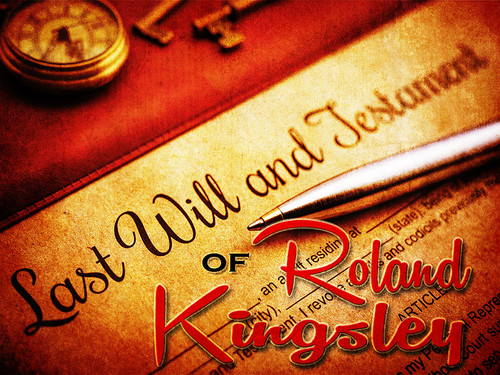 Last Will of Roland Kingsley murder mystery game