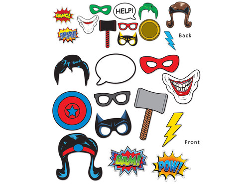 Superhero Fun Photo signs