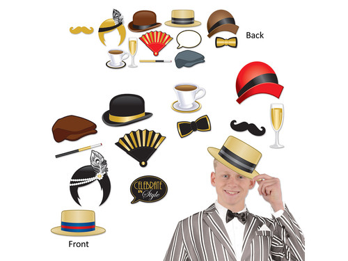 Fun 20s Photo Booth Prop Kit