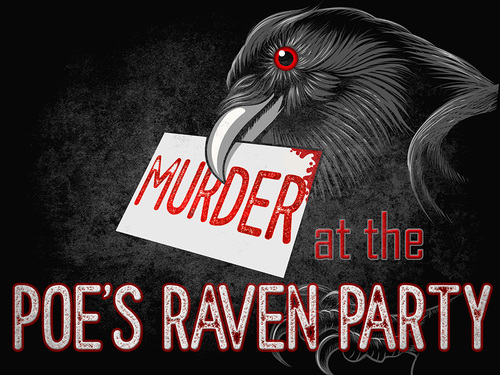 Murder at the Poe's Raven Party