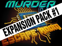 picture regarding Free Printable Escape Room Kit identified as Murder in just the Escape Space Boxed Established