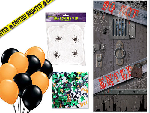 Halloween Decor Kit for mystery parties