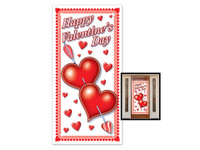 Valentine's murder mystery party door cover