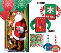 Christmas Decor Kit for a murder mystery party