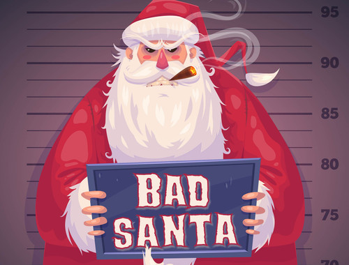 Bad Santa | a murder mystery party game for 10 - 20 players.