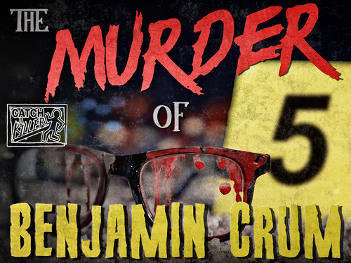 Catch a Killer case file murder mystery game boxed set | Murder of Benjamin Crum.
