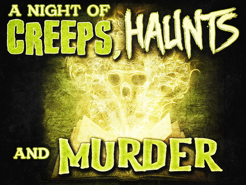 A Night of Creeps, Haunts, & Murder | A virtual murder mystery party game.