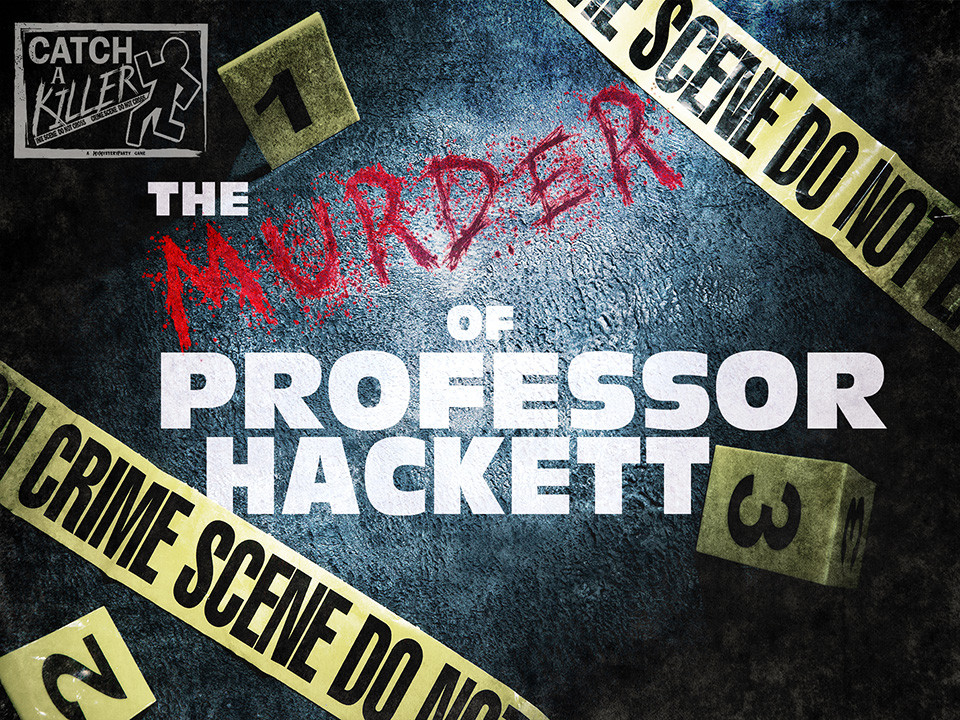 Catch a Killer - Murder of Professor Hackett boxed set.