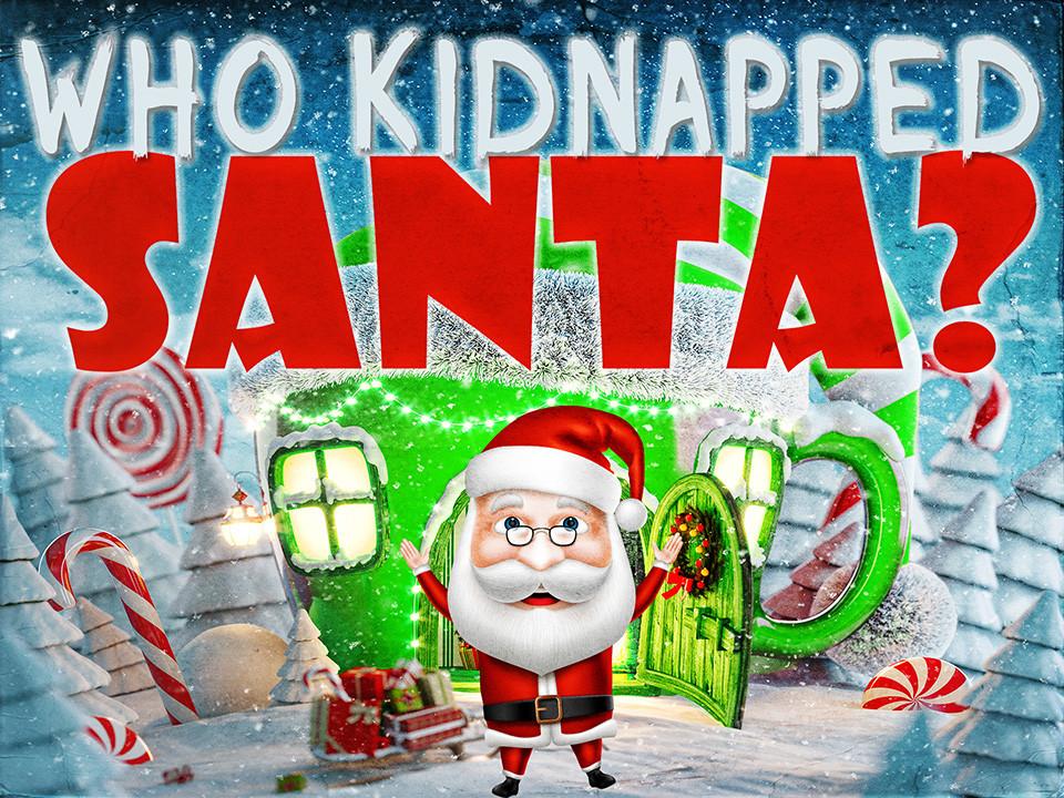 Who Kidnapped Santa   A virtual mystery