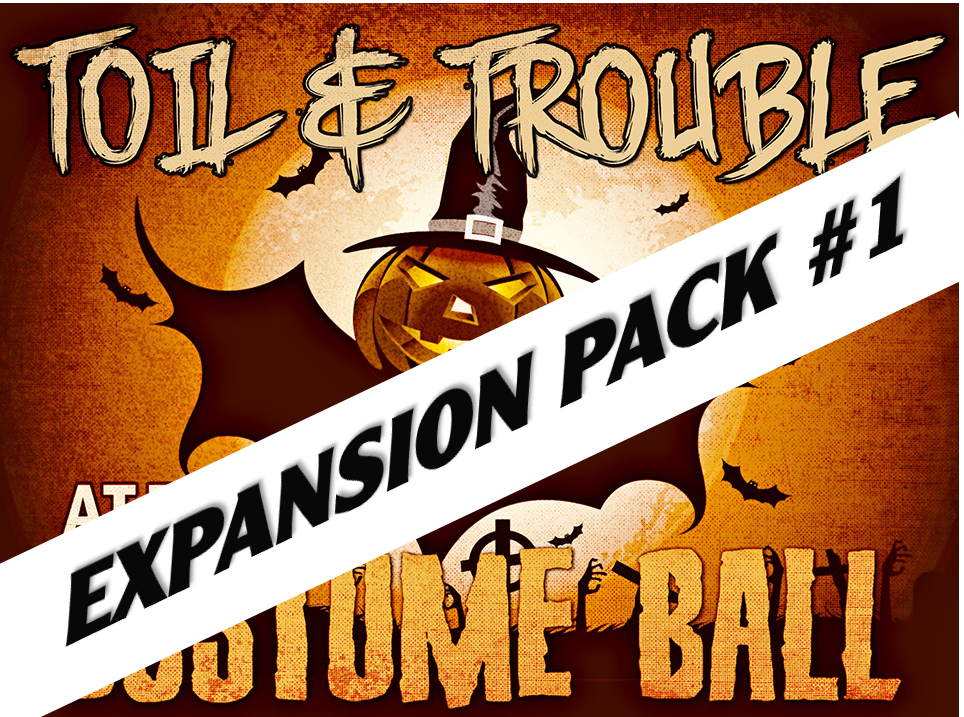 Toil & Trouble at the Costume Ball - a virtual mystery party for Zoom.