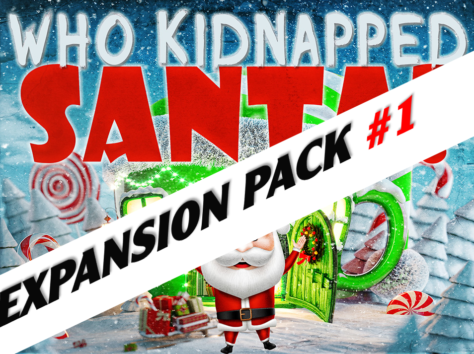 Who Kidnapped Santa? | A virtual mystery party expansion pack.