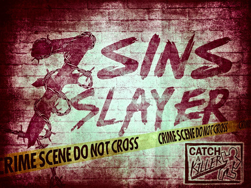 Catch a Killer| 7 Sins Slayer. A case file murder mystery game. Step into the shoes of Dr. Gold and solve the case.   This is the boxed set.
