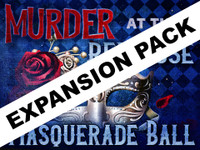 Red Rose Masquerade Ball expansion pack - a virtual murder mystery party for Zoom or other video chat platform.