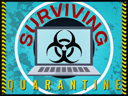 Surviving Quarantine | a virtual challenge game.