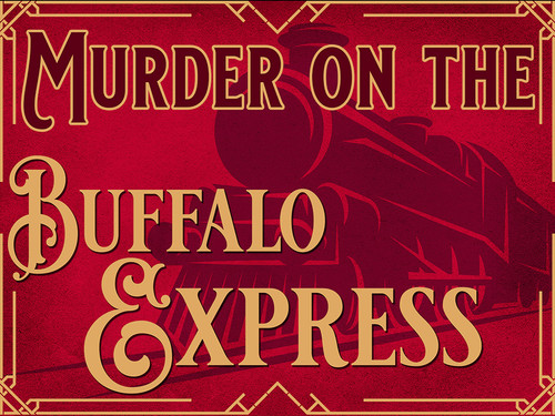 Murder on the Buffalo Express murder mystery party boxed set.