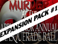 Abby Manor masquerade ball mystery party expansion pack