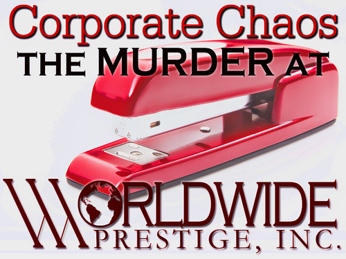Corporate Chaos murder mystery party game