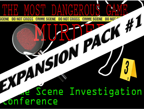 Expansion pack #1 for CSI murder mystery