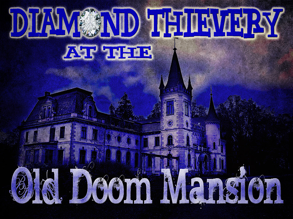Doom Mansion non-murder mystery party game