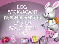 Neighborhood Easter scavenger hunt game