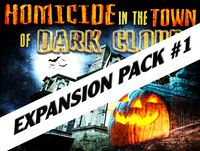 Halloween Homicide mystery party expansion pack #1