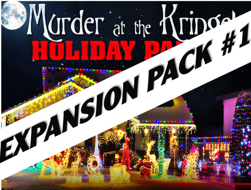 Kringels mystery party expansion pack #1