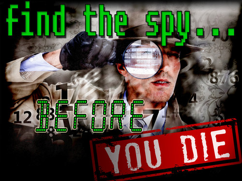 Find the Spy before you Die non-murder mystery party